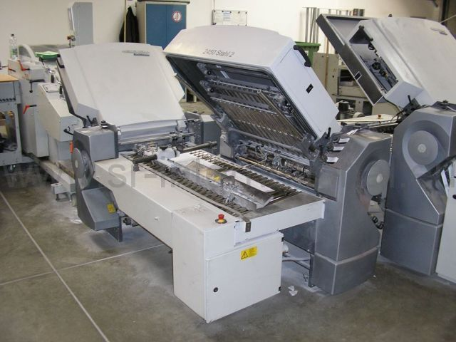 Stahl TH 82/442 optional with Palamides Alpha 700 - Year 2005
