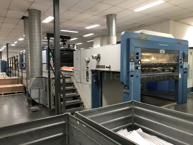 KBA Rapida 162-6A + L SW2 UV + Interdeck - Year 2001